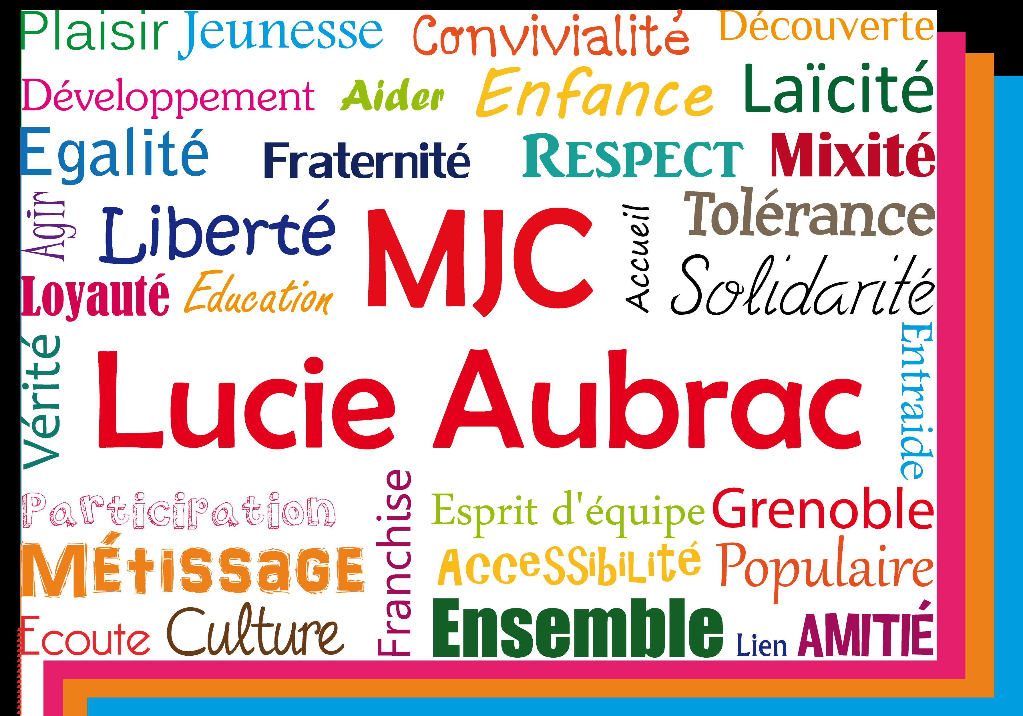 MJC Lucie Aubrac Logo